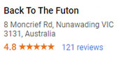 Back To The Futon - Google Reviews